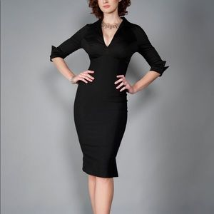 Pinup Couture Lauren Dress in Black. Size XS